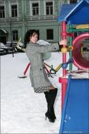 Natalie in Winter Angels gallery from MPLSTUDIOS by Alexander Fedorov - #5