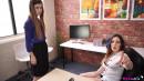 Misha Cross & Samantha Bentley in Please The Boss gallery from WANKITNOW - #2