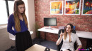 Misha Cross & Samantha Bentley in Please The Boss gallery from WANKITNOW - #6