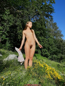 Milena Angel in Mountain Flower gallery from MILENA ANGEL by Erik Latika - #4