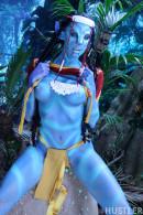 This Ain't Avatar XXX Chanel Preston Juelz Ventura Misty Stone gallery from HUSTLER by Hustler - #3