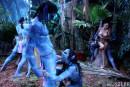 This Ain't Avatar XXX Chanel Preston Juelz Ventura Misty Stone gallery from HUSTLER by Hustler - #7