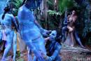 This Ain't Avatar XXX Chanel Preston Juelz Ventura Misty Stone gallery from HUSTLER by Hustler - #8